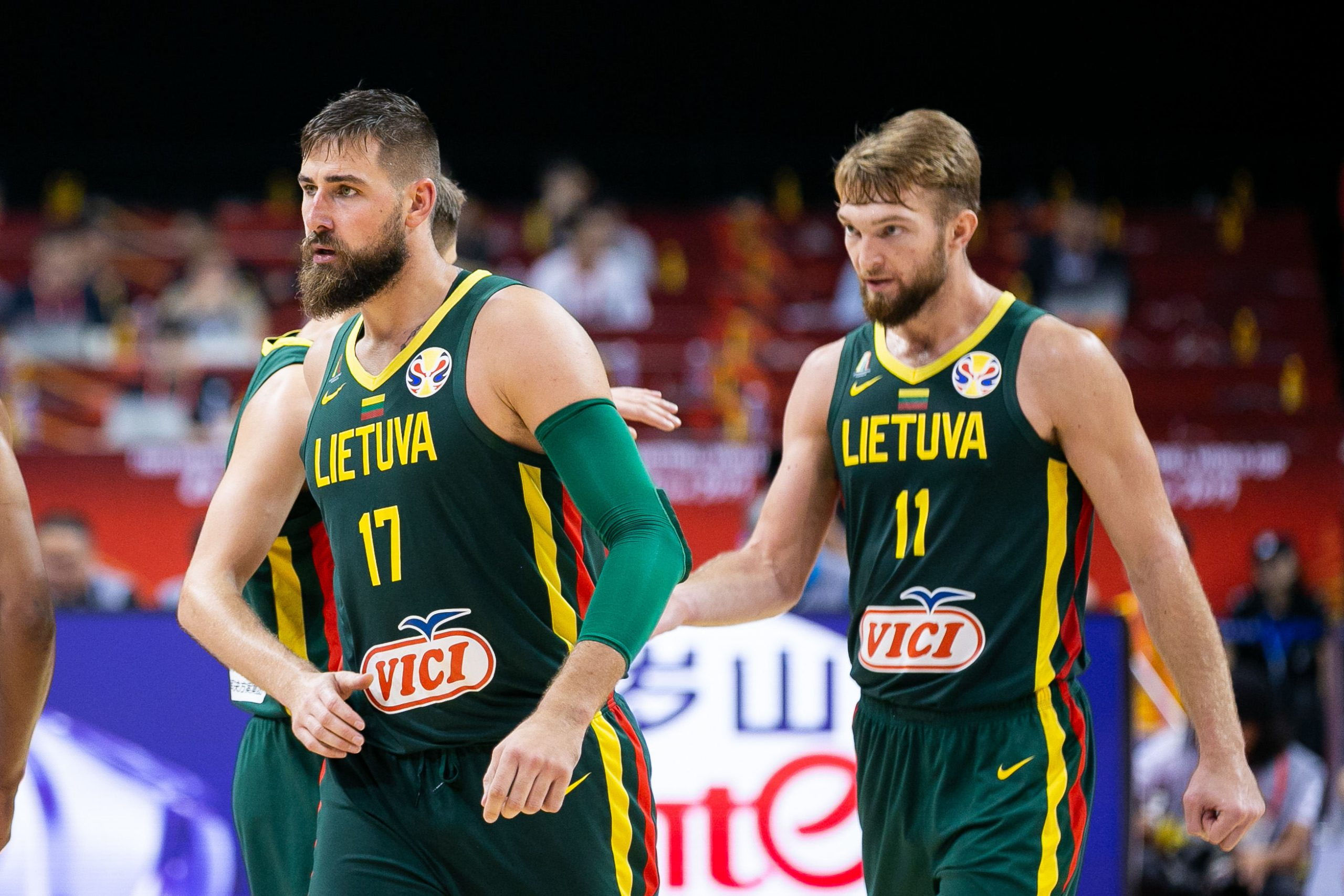 Domantas Sabonis and Jonas Valanciunas are in Lithuania's preliminary squad  to face Belgium   This Is Basketball