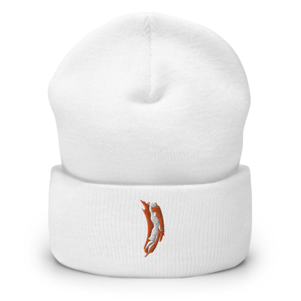 best holiday gifts This Is Basketball beanie with TIB logo in white