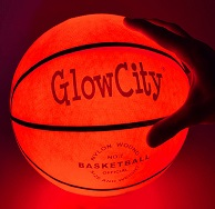best holiday gifts LED glow-in-the-dark basketball